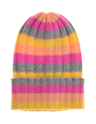The Elder Statesman Beanie Bunny Echo Multicolor