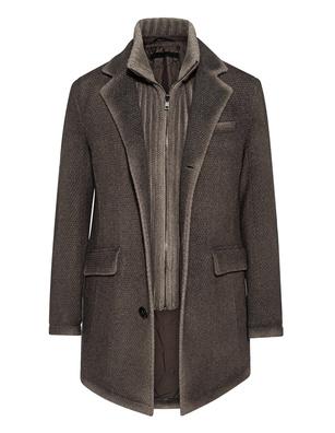 GMS-75 Wool Knit Mohair Grey