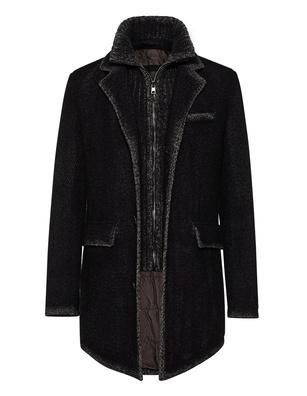 GMS-75 Wool Knit Mohair Black