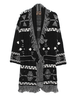 CAMOUFLAGE COUTURE STORK Indio Knit White Black
