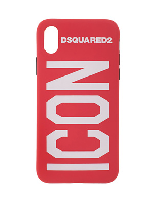 DSQUARED2 Case iPhone X Icon Red