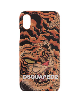 DSQUARED2 iPhone X/Xs Case Tiger Multicolor