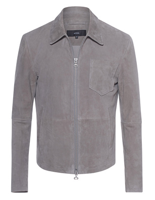 ARMA Suede Jacket Grey