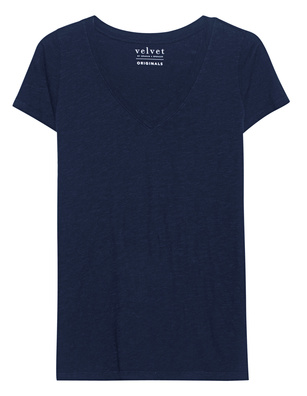 VELVET BY GRAHAM & SPENCER Jilian Navy