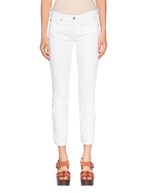 7 FOR ALL MANKIND Mid Rise Roxanne White