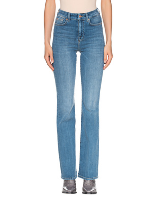 7 FOR ALL MANKIND Lisha Slim Illusion Light Blue