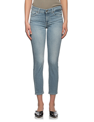 7 FOR ALL MANKIND Roxanne Ancle Light Blue