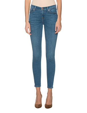 7 FOR ALL MANKIND Skinny Slim Illusion Blue