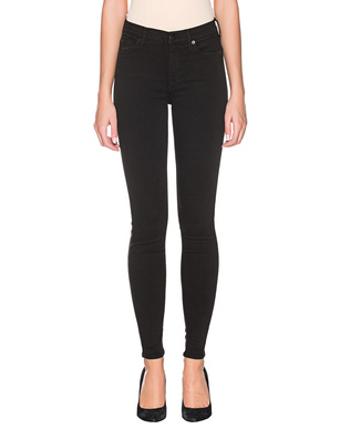 7 FOR ALL MANKIND Skinny Slim Illusion Luxe Rinsed Black