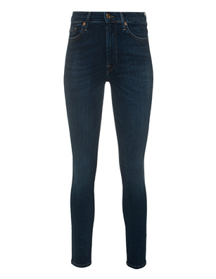 7 FOR ALL MANKIND Skinny Crop Blue