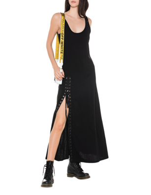 Kendall + Kylie Tank Dress Black