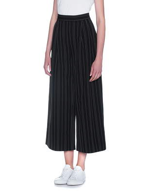 Kendall + Kylie Pin Stripe Black