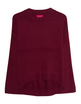 JADICTED Cosy Loose Fit Cashmere Bordeaux