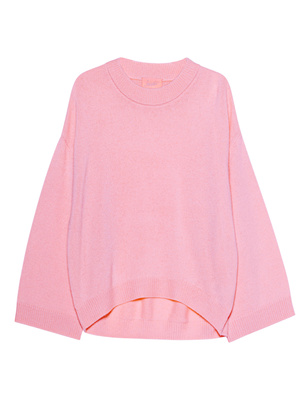 JADICTED Cashmere Knit Crew Neck Rose