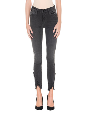 FRAME DENIM Le High Skinny Slit Grey
