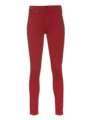 AG Jeans The Farrah Skinny Ankle Red
