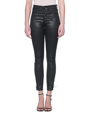 AG Jeans Farrah Ankle Side Lace Black