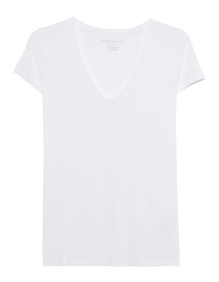 Majestic Filatures  V-Neck BV White