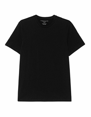 Majestic Filatures  Crewneck Deluxe Cotton Black