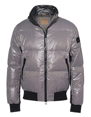 TRUE RELIGION Puffer Down Bomber Grey