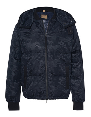 TRUE RELIGION Camo Bomber Blue