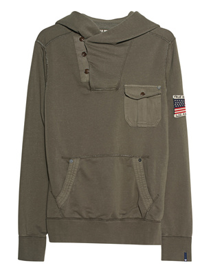 TRUE RELIGION Gabardie Dusty Olive