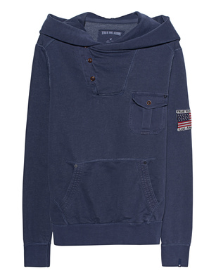TRUE RELIGION Gabardine Solid Navy