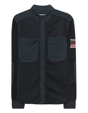 TRUE RELIGION Oversized Black