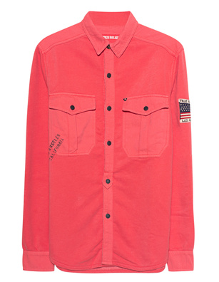 TRUE RELIGION Oversized Red