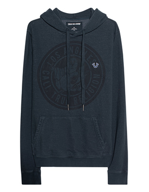 TRUE RELIGION Buddha Hood Black