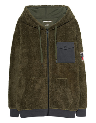 TRUE RELIGION Teddy Olive