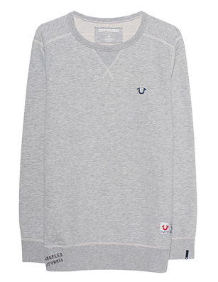 TRUE RELIGION Fleece Embroidery Grey