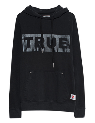 TRUE RELIGION Logo Box Black