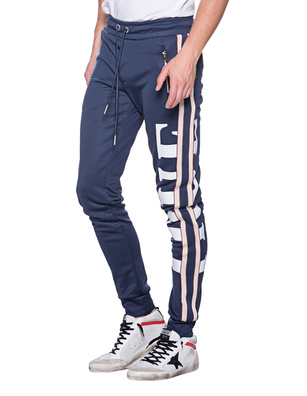 TRUE RELIGION Jogging Stripe Navy