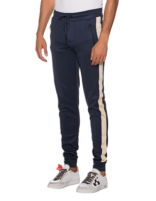 TRUE RELIGION Jogging Stripe Blue
