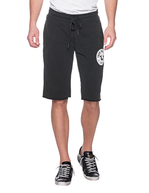 TRUE RELIGION Logo Shorts Black