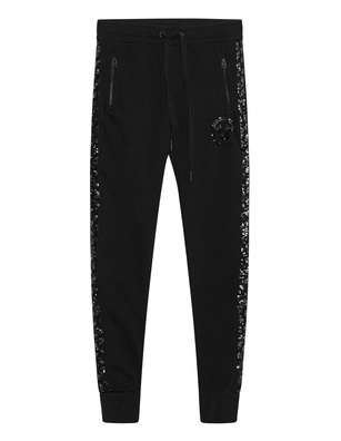 TRUE RELIGION Pants Sequin Black