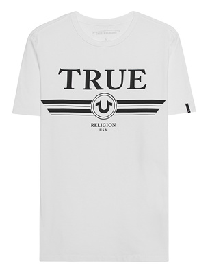 TRUE RELIGION Logo Trucci White
