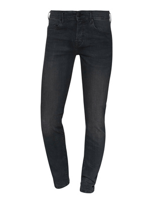 TRUE RELIGION Rocco Relaxed Skinny Black