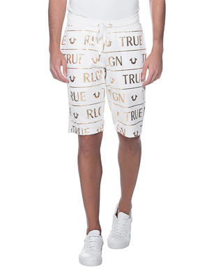 TRUE RELIGION Logo Gold Edition Off-White