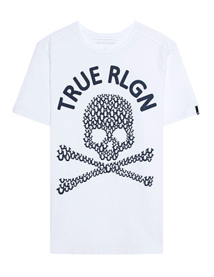 TRUE RELIGION Crew Shirt White