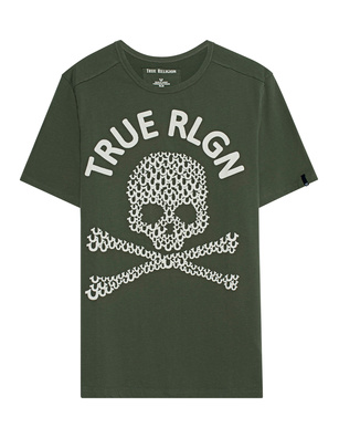 TRUE RELIGION Crew Shirt Thyme Green