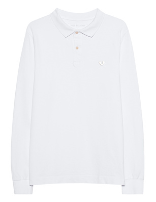 TRUE RELIGION Polo Longsleeve White