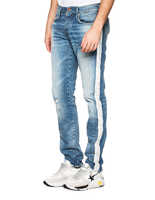 TRUE RELIGION New Rocco Stripe Blue