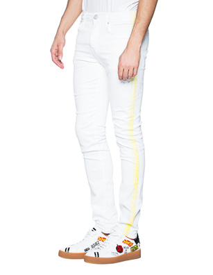 TRUE RELIGION Rocco Yellow Off White