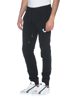 TRUE RELIGION Reflective Pant Black