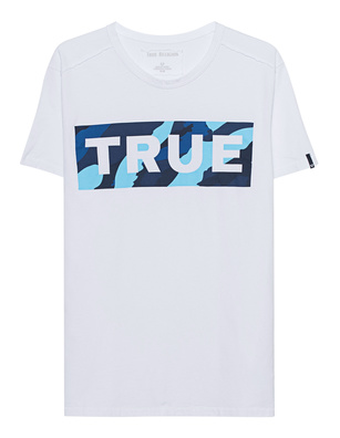 TRUE RELIGION Block Camo White