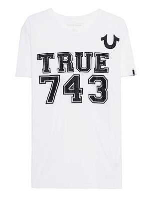 TRUE RELIGION Logo 743 White