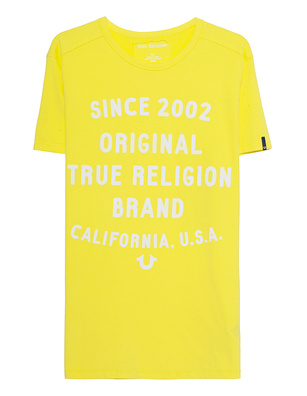 TRUE RELIGION True Shirt Original Yellow