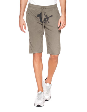 TRUE RELIGION Short Logo Olive